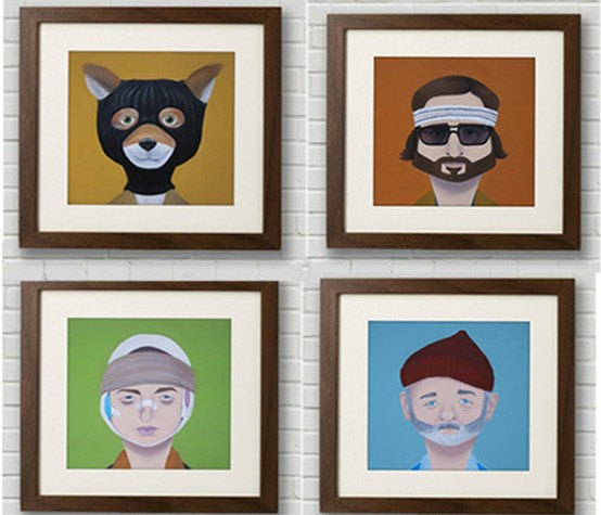 Wes Anderson Wall Art