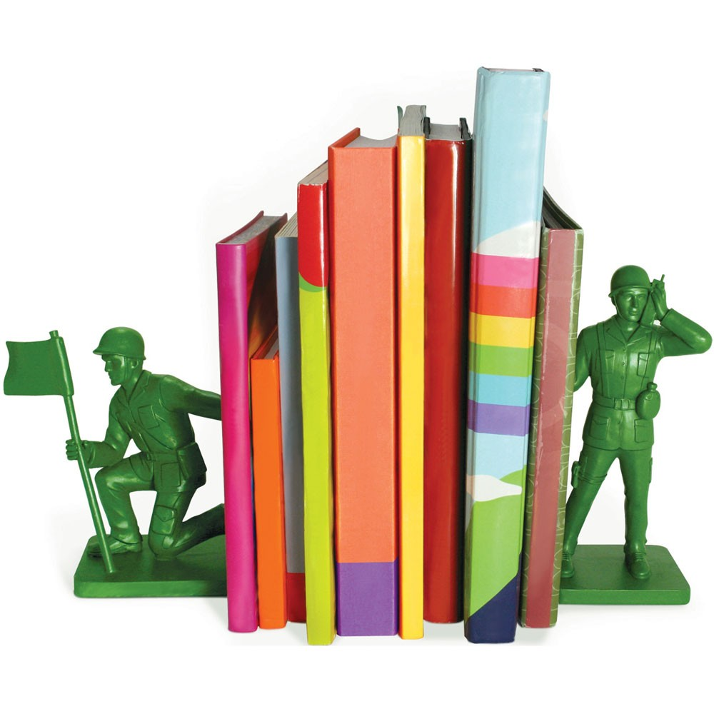 Soldier Book Ends That Should Be Mine