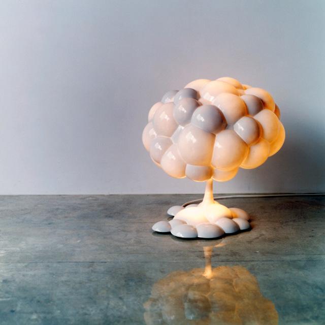 Captivating Mushroom Cloud Lamp