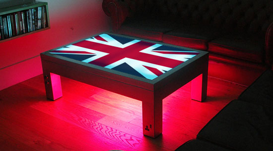 Illuminating Coffee Table That Should Be Mine