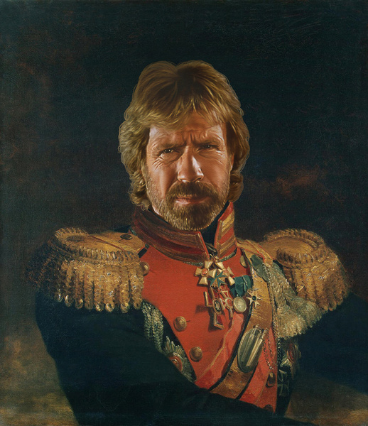 Chuck Norris Replaceface