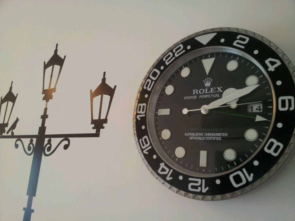 Rolex wall clocks that should be mine rolex clock amipublicfo Image collections