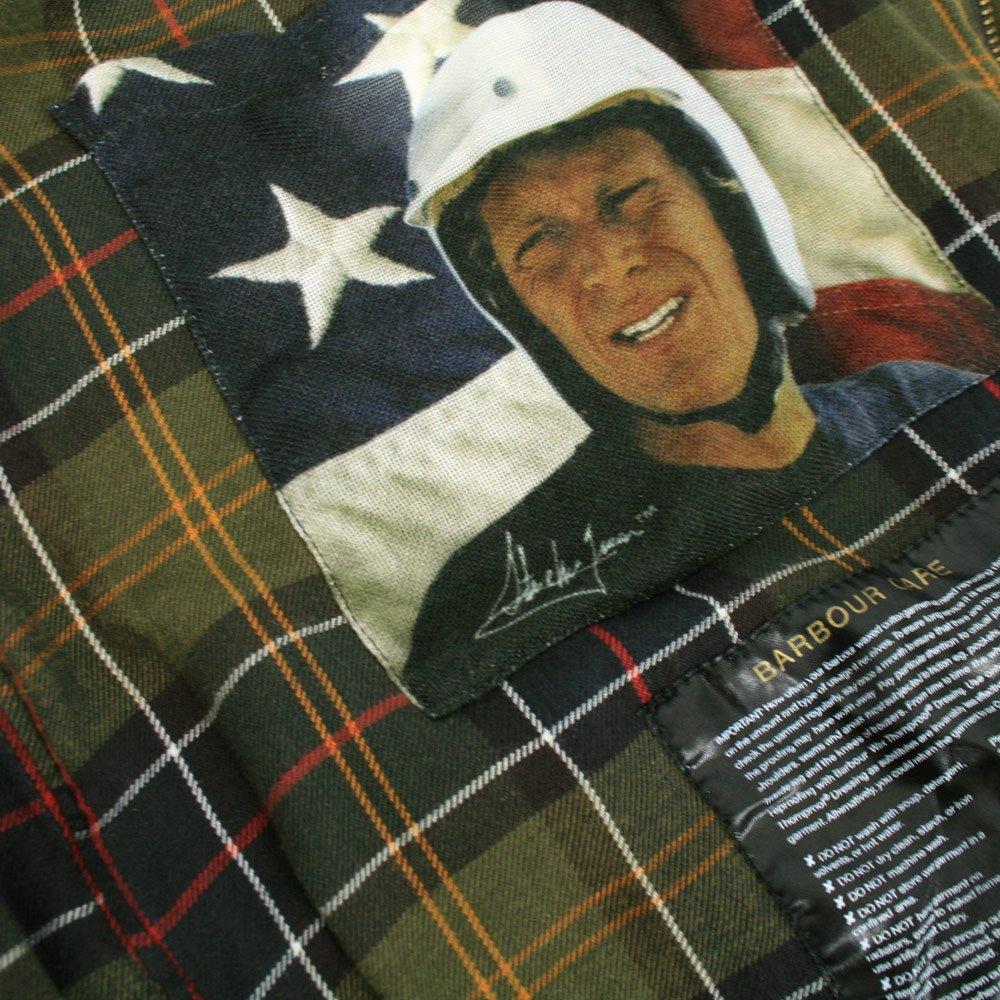 Steve Mcqueen barbour jacket