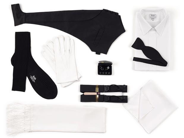 black tie ensemble